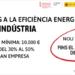 La Comunidad Valenciana amplía el plazo para solicitar las ayudas a la eficiencia energética en la industria
