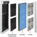 Purificadores de Mitsubishi Electric con filtros HEPA para espacios interiores con buena calidad de aire
