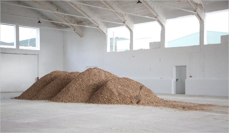 Centro piloto de biomasa en Aoiz