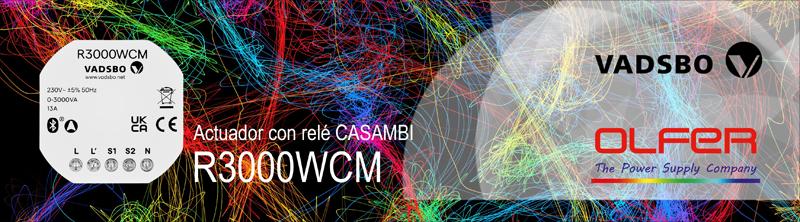 relé Casambi R300WCM