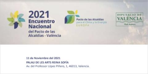 El Encuentro Nacional del Pacto de las Alcaldías abordará los objetivos de neutralidad climática para 2050