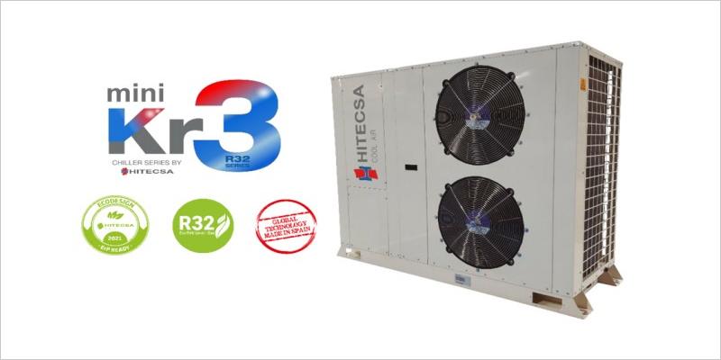 Solución Hitecsa para aplicaciones de aerotermia en superficies de tamaño mediano