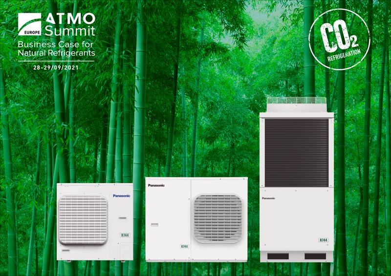 Panasonic apuesta por soluciones de refrigeracón sostenibles en ATMOsphere Europe 2021