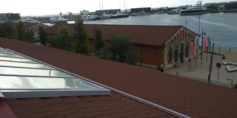 El Puerto de Tarragona construye una instalación de autoconsumo sobre la cubierta de su nuevo museo