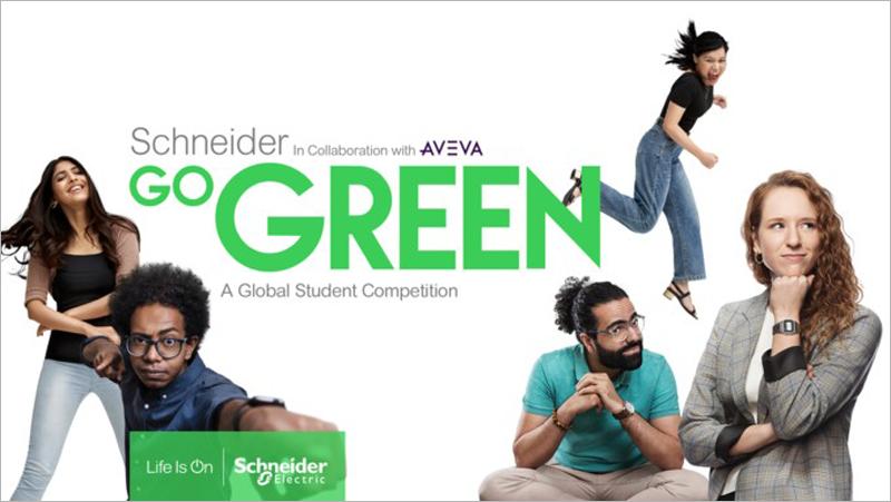 Concurso Schneider Go Green 2022 para estudiantes con ideas en innovación digital y sostenible